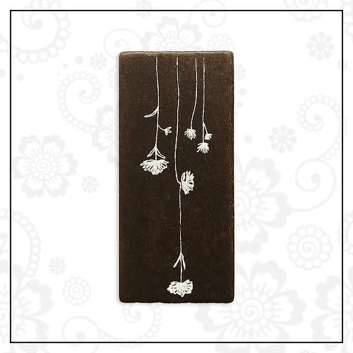 wooden stamp | floral