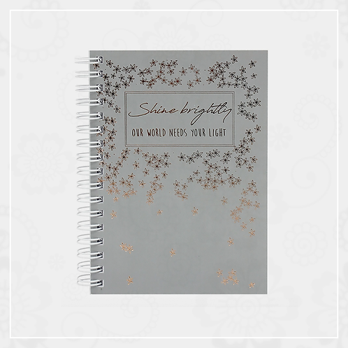 Mini Spiral Notebook (Grey)