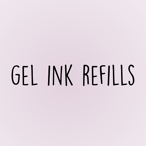 Gel Ink Refills