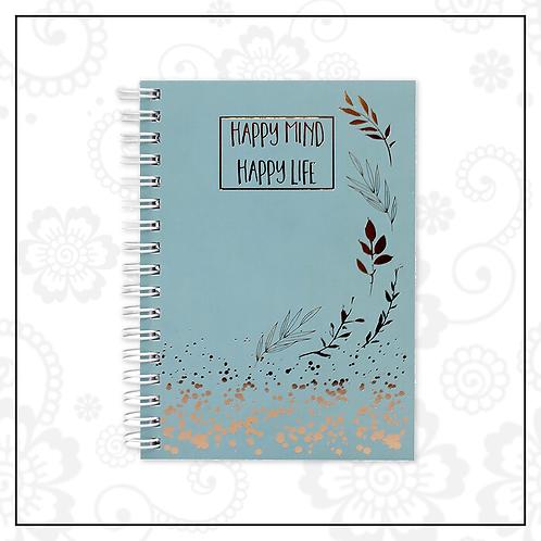 mini spiral notebook | blue