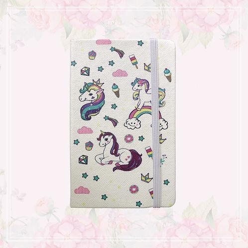 unicorn journal | white