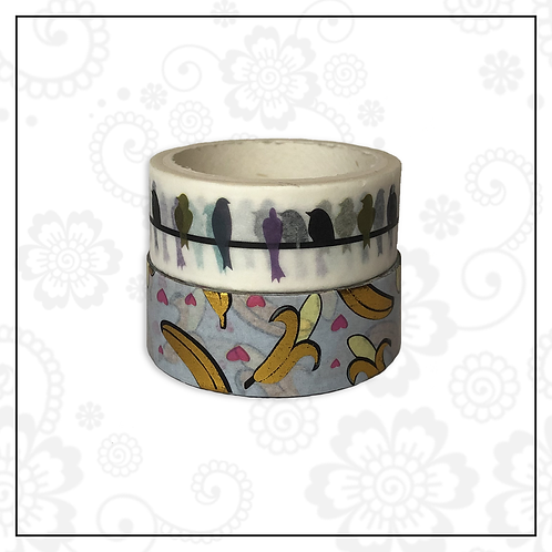 foil washi tape pair | style 4