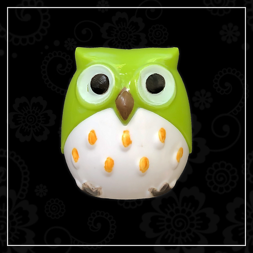 owl sharpener | green