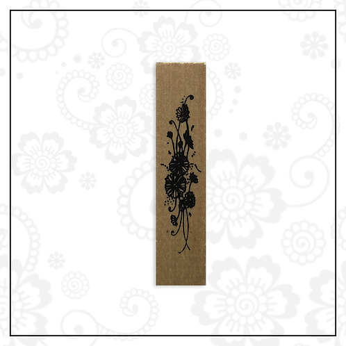 wooden stamp | floral style 2