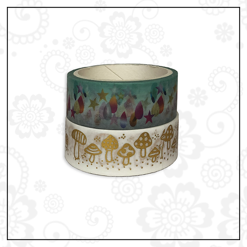 foil washi tape pair | style 15