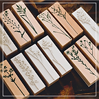 PRODUCT ITEM - floral wooden stamps 01.p