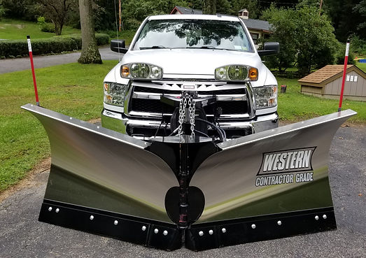 2017 Ram 2500 HD With Western MVP3 Stainless Plow
