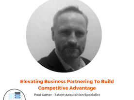 Elevating Business Partnering to build Competitive Advantage