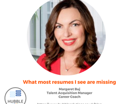 What most resumes I see are missing