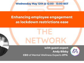 Network Event - Wednesday May 12th @ 12:00