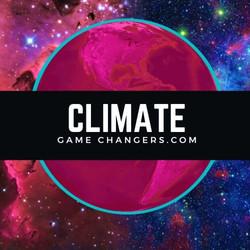 ClimateGameChangers- glowing globe t-shirts