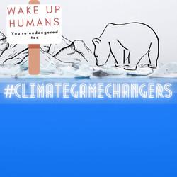 WAKE UP Humans_Artic Tee
