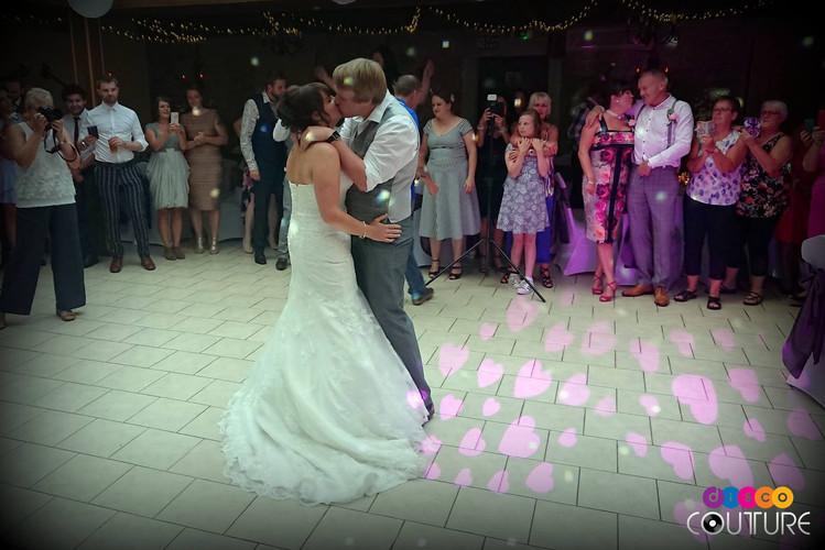 Wedding disco at Walworth Castle