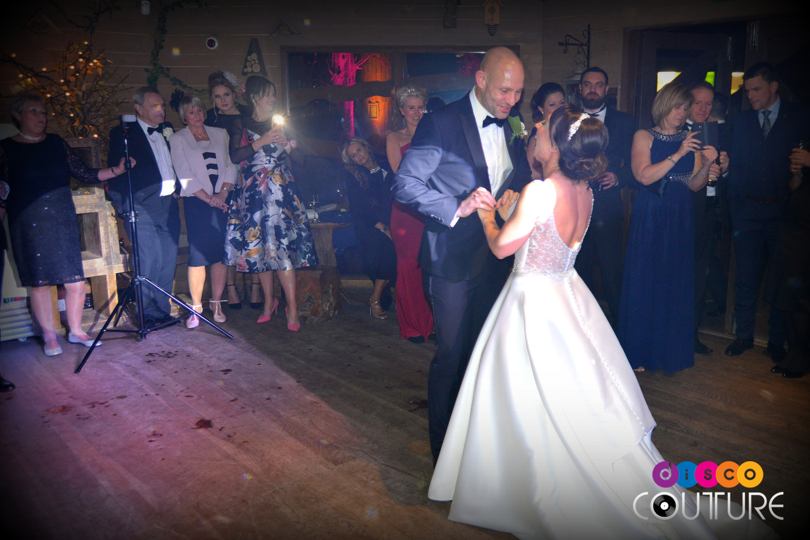 First dance in the treehouse