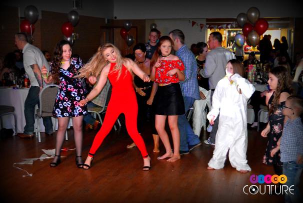 Teens enjoying a dance