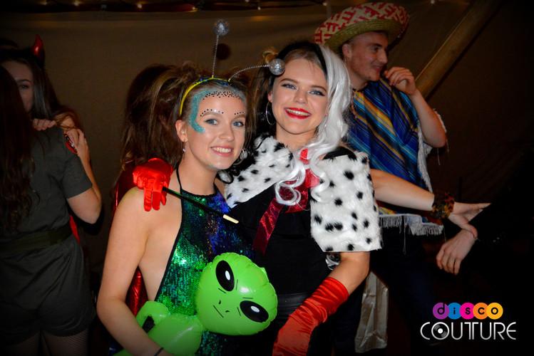 Fancy dress disco with allan the alien