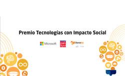 Premio Tecnología con Impacto Social
