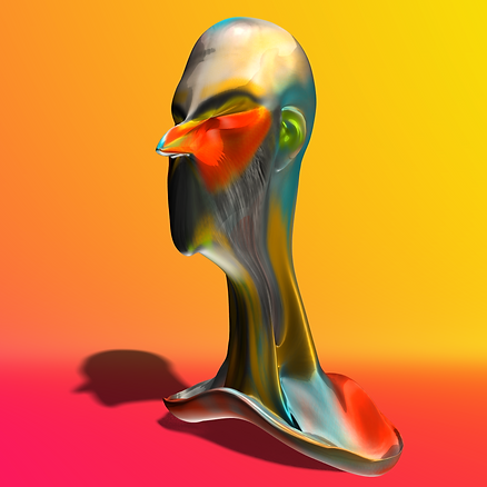 Digital art, digital sculpt, 3D printer,