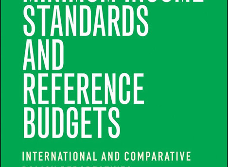 New Book on Reference Budgets across the world - including contributions from various Platform partn