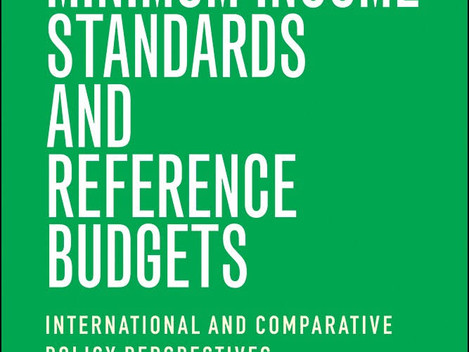 New Book on Reference Budgets across the world - with contributions from various Platform partners