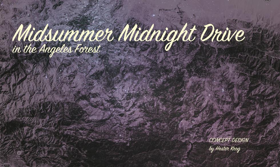 Midsummer Midnight Drive Pitch Deck