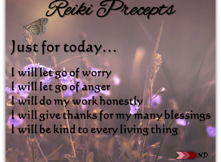 Spring Refresh With The 5 Reiki Precepts