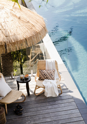 """Resort Cool"" Feb 2018. Home Beautiufl Magazine."