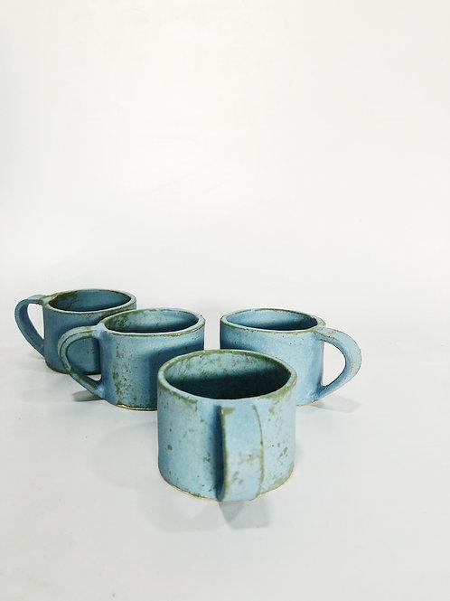 Blue Set Expresso Mugs