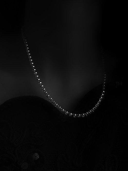Bette Vintage Diamante Necklace