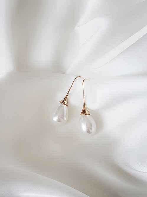 Lana pearl drop earrings