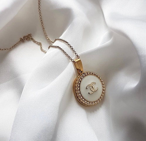 *PRE ORDER* White Vintage Chanel Necklace