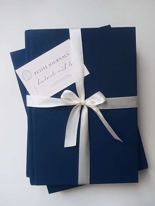 Navy Lined Notebook