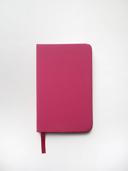 Pink A6 Lined Journal