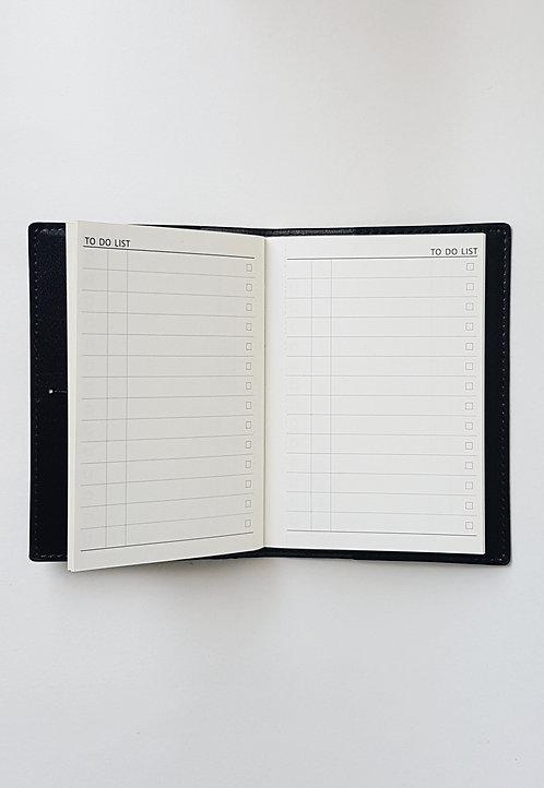 """Noir """"To Do List"""" Journal"""