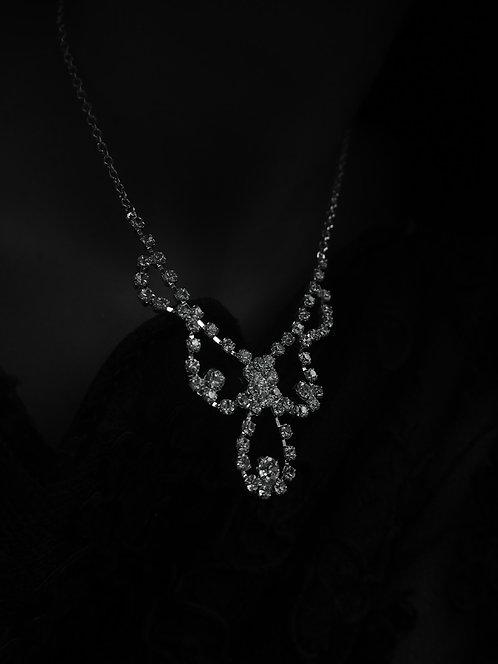 Waldorf Vintage Diamante Necklace