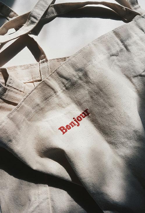 Bonjour Canvas Bag