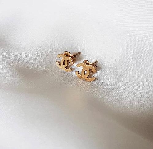*PRE ORDER* Gold CC Earrings