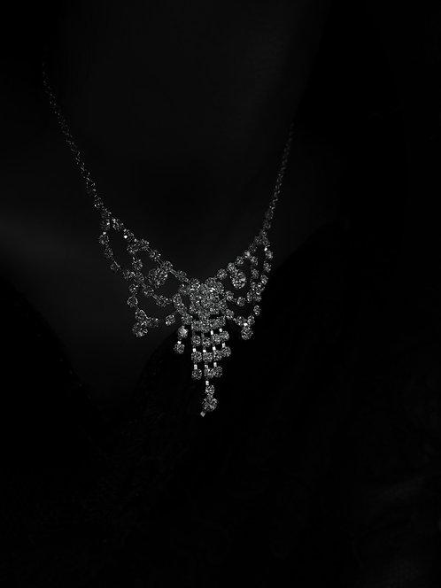 Serena Vintage Diamante Necklace