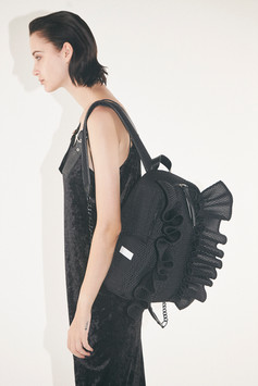 bonbonbutterfly backpack M honeycomb solid