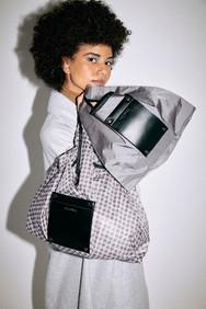 roll bag S / roll print bag