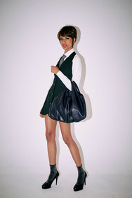 balloon bag leather S