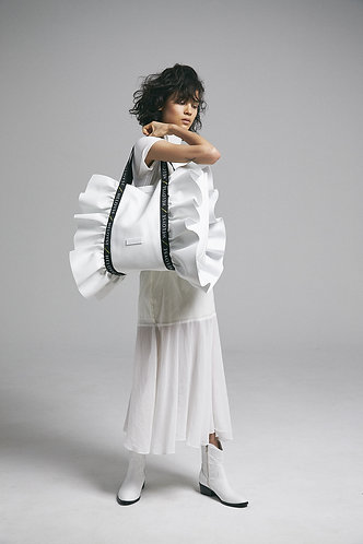 bonbon butterfly tote L leather / ボンボンバタフライ トート L レザー