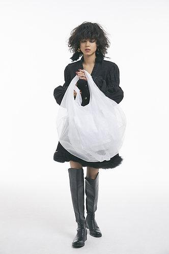 balloon tulle bag / バルーン チュール バッグ