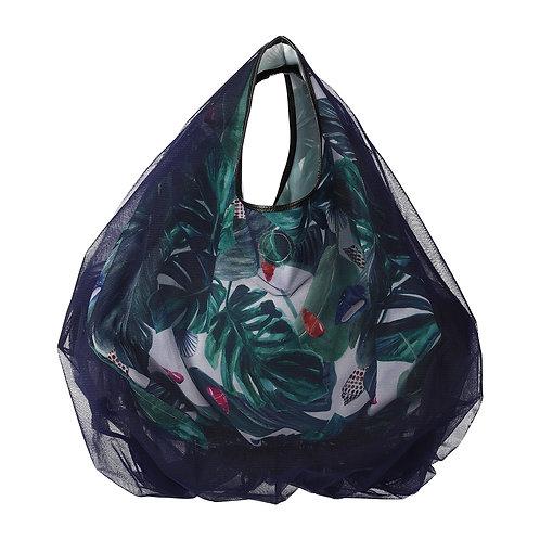 balloon tulle tropical bag S / バルーン チュール トロピカル バッグ S