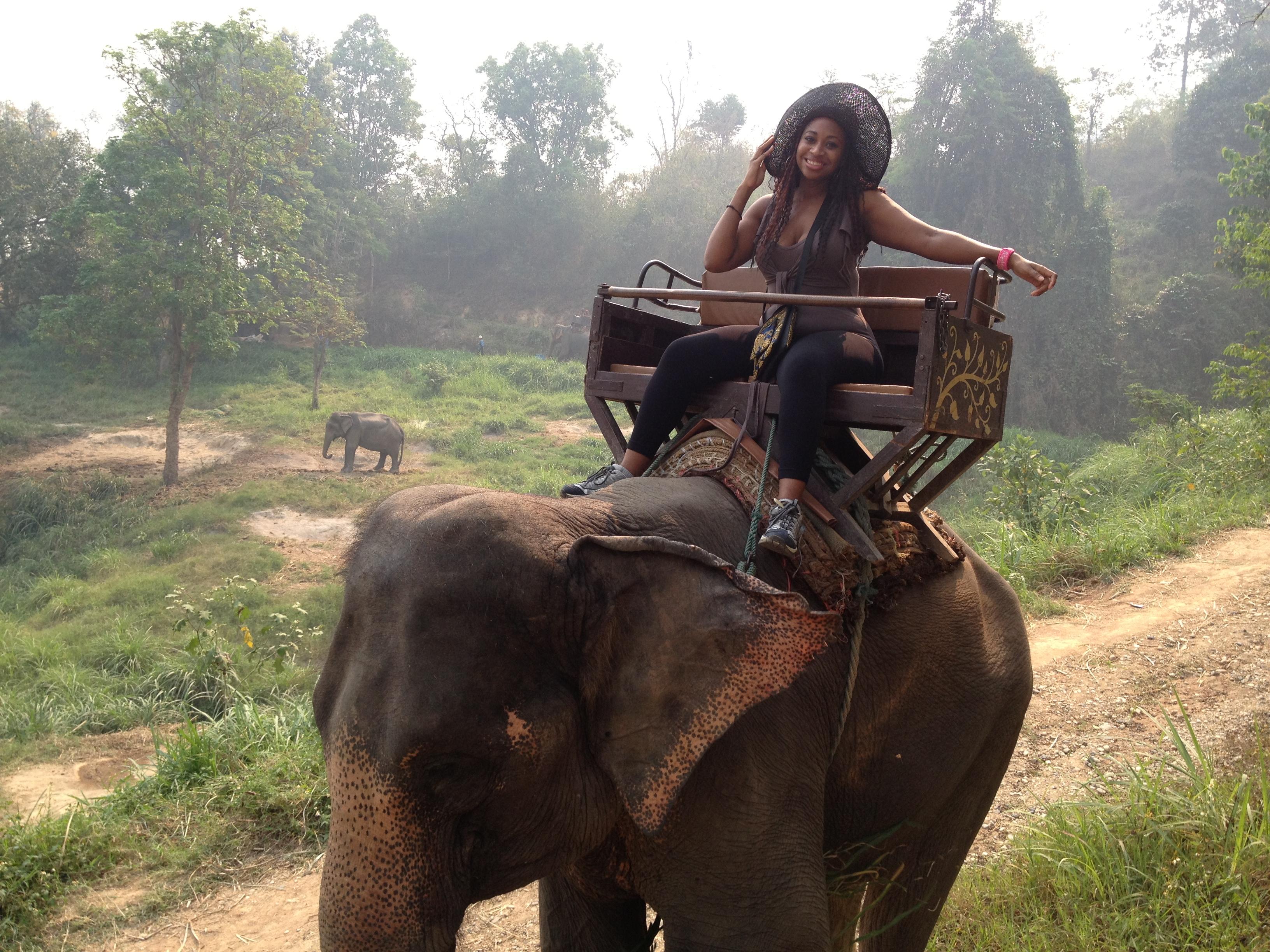 Having a little fun in Thailand