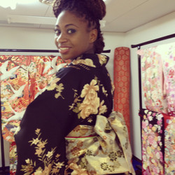 Walked around all day in Kimono, in Japan