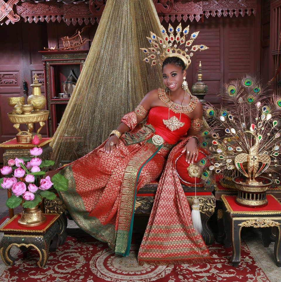 Feeling regal in Thailand