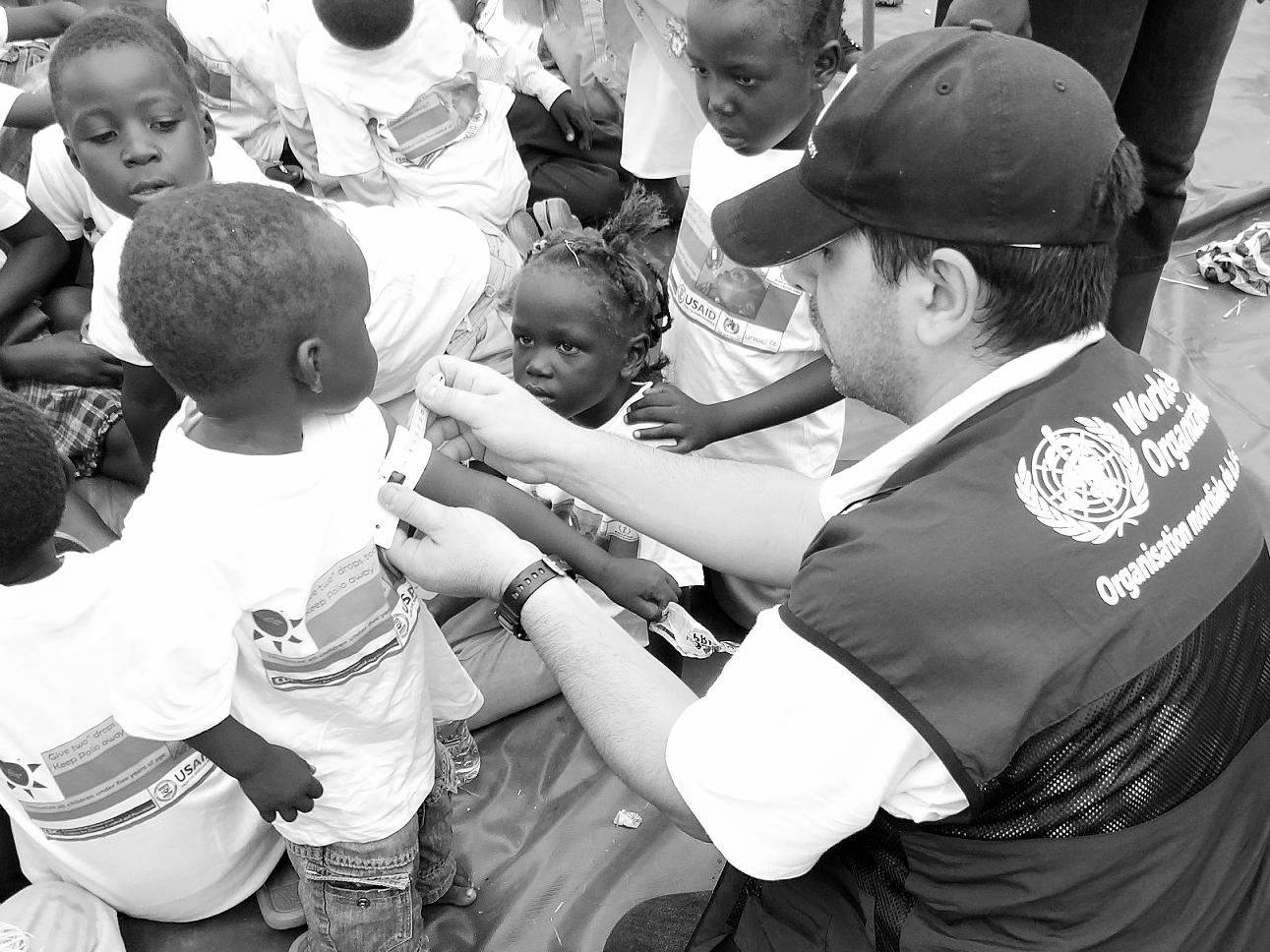 Juba, South Sudan - Amirkambiz Hamedanizadeh, WHO Public Health Officer, Standby Partner Norwegian Refugee Council