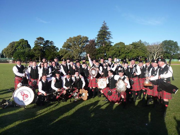 Pipe Band - NZ Champions