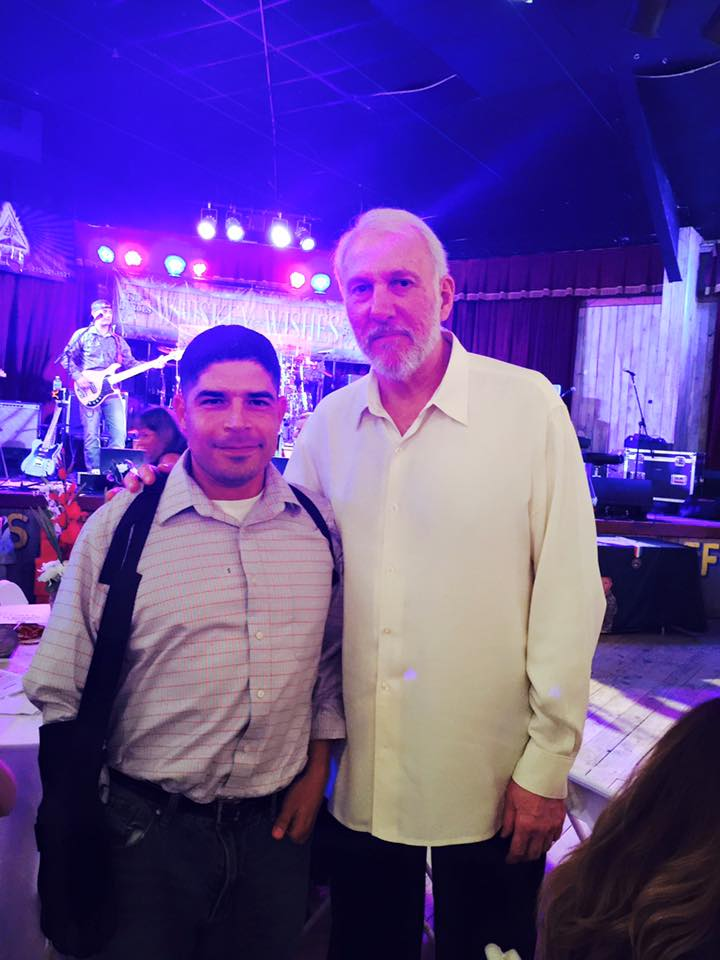 John & Coach Pop